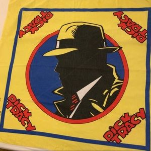 Vintage Dick Tracy bandana